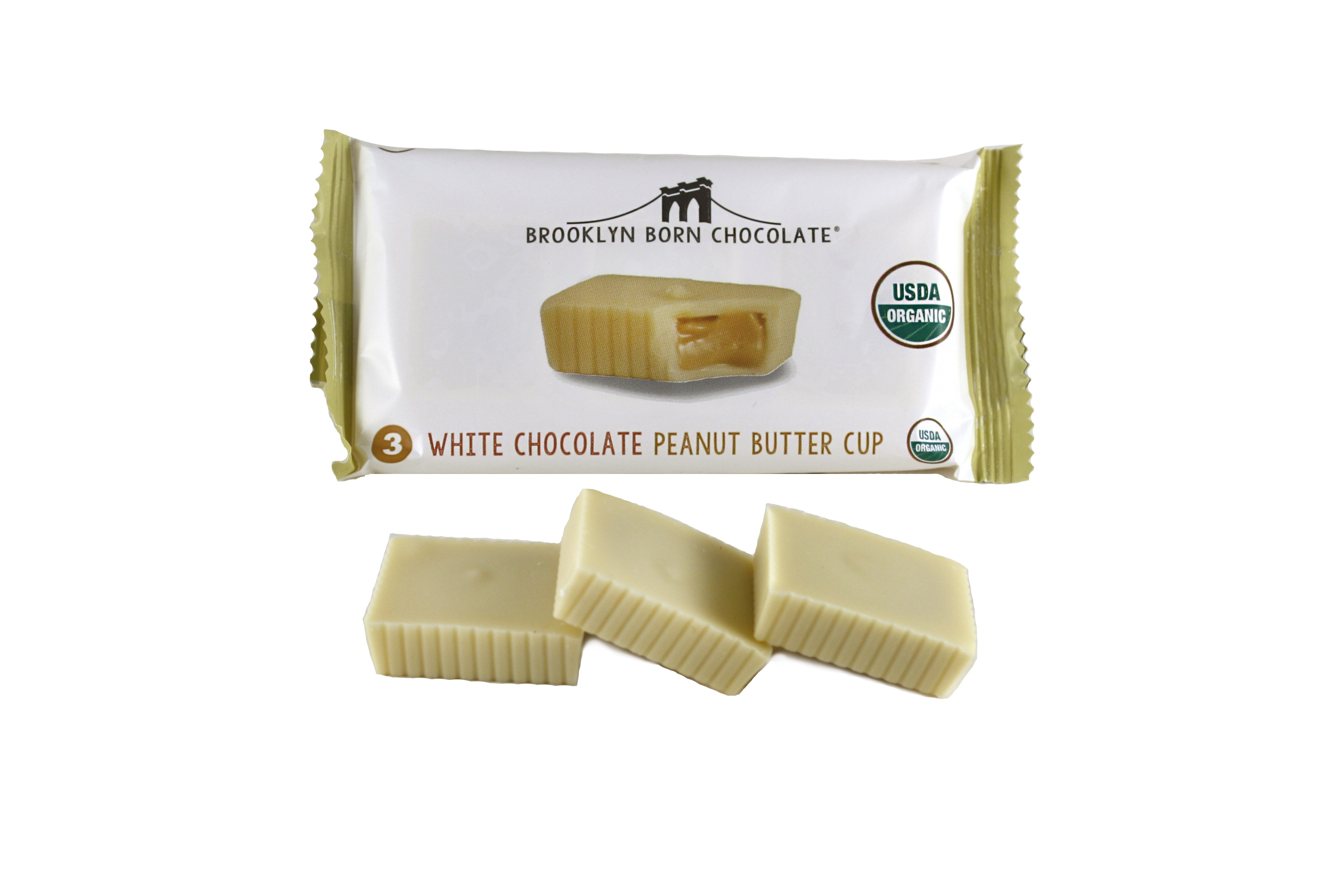Chocolate Peanut Butter Cups, White PBCW